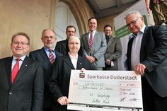 Lothar Koch spendet der Förderinitiative St. Martini Duderstadt