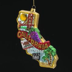 1000+ images about State Christmas Ornaments on Pinterest ...