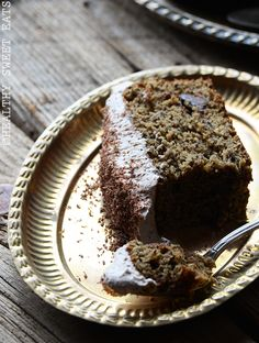 Easy to Modify for AIP - leave out espresso and sub flax meal. Mocha Coconut Flax Cake with Mocha Coconut Frosting Recipe | Healthy Sweet Eats