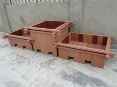 wood plastic composite flower box、wood plastic flower box #corrosionproof #manufacture