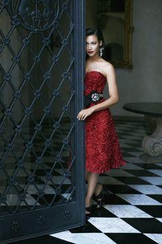 Devil in a red dress!