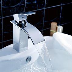 robinet cascade de salle de bains finition chrome httpwww - Grand Lavabo Salle De Bain