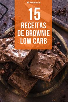 Receita Bolo Low Carb, Bolos Low Carb, Brownie Low Carb, Low Carb Recipes, Vegan Recipes, Brownie Recipes, Fitness Diet, Coco, Gluten Free