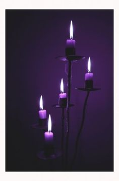 Purple candles to show lupus awareness & for those we love who have passed on. Still fighting lupus