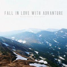 Fall in love with advanture Ukraine