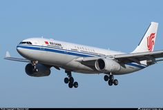 Air China Airbus A330-243 B-6505 on final approach to Rome-Fiumicino, June 2013. (Photo: Maurizio Valli)