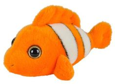 WHAT'S INCLUDED: From a realistic design and distinctive facial markings, this posed Clown Fish is simply irresistible! This plush Clown Fish is huggable, hand-washable, soft, shed-free and made from high quality acrylic, polyester and stitching to ensure added safety!  	 DIMENSIONS: Measuring at 7 inches, our adorable Clown Fish stuffed animals are comfortable and soft to the touch! The perfect size for at home and take on the go play!  	 MULTI-PURPOSE: Expand your child's interest in…