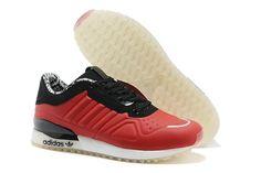 Adidas Originals T-ZX Runner Männerschuhe Rot Schwarz Weiß