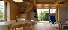 家と庭一体で設計デザインする自然素材の家 信州長野の住まい - 株式会社誠設計事務所