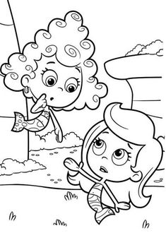 Deeam Look Confuse To Molly In Bubble Guppies Coloring Page : Coloring Sun Free Coloring Sheets, Colouring Pages, Coloring Pages For Kids, Coloring Books, Bubble Guppies Coloring Pages, Mickey Mouse Parties, Minnie Mouse, Kids Bubbles, Farm Animal Coloring Pages