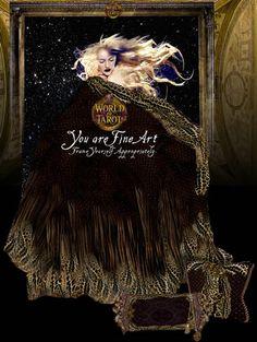 Luxurious Sanctuary Tarot Coverlets, From WorldOfTarot.com Tarot, Fine Art, World, Movie Posters, Movies, Films, Film Poster, Cinema, The World