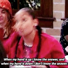 """You are a model student. 