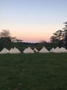 Teepee village for guests