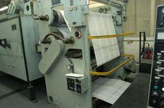 En el proceso de producción de la Biblia en Imprenta de Sociedad Bíblica de Brasil