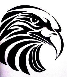 Tribal Eagle Tattoo Picture By Photobucket Tattoo Design Tribal Tattoos, Tribal Eagle Tattoo, Eagle Tattoos, Tribal Tattoo Designs, Wolf Tattoos, Tribal Art, Native Art, Native American Art, Stammestattoo Designs