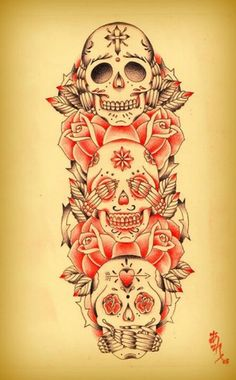 see no evil sugar skulls
