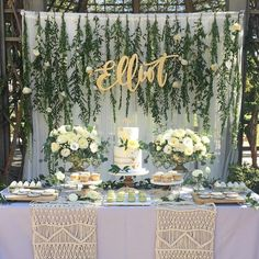 Neutral Baby Shower Themes You Won't Want To Pass Up - Southern D. Gender Neutral Baby Shower Themes You Won't Want To Pass Up - Southern D. - 9 Easy DIY Jungle Safari Party Ideas - Print & Party Mint Shower Tablecloth Mint Birthday Mint to Be Party Deco Baby Shower, Baby Shower Parties, Baby Boy Shower, Bridal Shower, Baby Shower Backdrop, Baby Shower Table, Rustic Baby Shower Decor, Baby Shower Green, Unisex Baby Shower