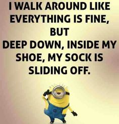 Hshshahajhajahahha when u think its gonna be a real true quote. Funny Minion Memes, Minions Quotes, Funny Jokes, Funny Cartoons, Haha Funny, Hilarious, Minions Love, Minions Friends, Thats The Way