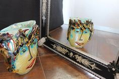 """""""Picasso SIlver"""" #Murano #glass #vase #art #design #handmade #Muranolampstore https://www.muranolampstore.com/en/murano-glass-vase-picasso-argento"""