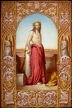 """"""" But he was wounded for our iniquities, he was bruised for our sins: the chastisement of our peace was upon him, and by his bruises we are healed. Catholic Art, Religious Art, Roman Catholic, Jesus Art, Jesus Christ, Love Scriptures, Jesus Loves Us, Vintage Holy Cards, Religion Catolica"""