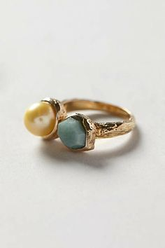 Pearl Beacon Ring- Anthropologie- $38.00