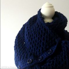 Check out the new infinity scarf that you can wear in many many ways! It's available in several colors. See more at www.NOTONbyRaquel.etsy.com
