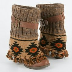 decc3f0f8638 WANTED  Muk luks Cassandra fringe spat boots I m hoping to buy these from
