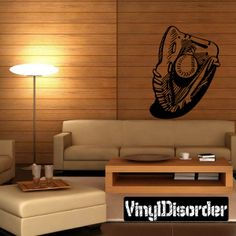 Baseball Glove And Ball Wall Decal - Vinyl Decal - Car Decal - CDS057
