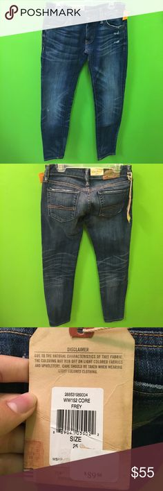 NWT Denim & Supply Ralph Lauren jeans size 25 NWT Denim & Supply Ralph Lauren cropped skinny jeans women's size 25 Denim & Supply Ralph Lauren Jeans Skinny