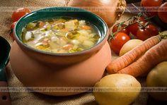 Jarzynowa zupa z serem