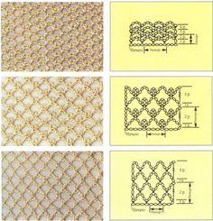 сетка крючком вязание