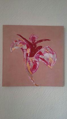 Mijn eerste paletmes schilderij