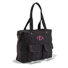 This casual, comfortable purse is loaded with pockets, including two exterior ones with a snap closure that are perfect for holding your cell phone, keys and more! www.mythirtyone.com/176225