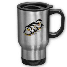 Flock of Penguins Mug