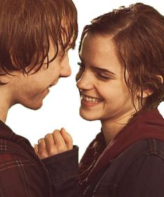 J K Rowling taught me that writing a young adult series is a lot like taking a test. If you second guess yourself you'll end up being FUCKING wrong. Love ron and hermione