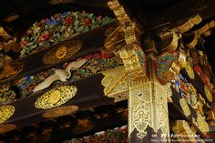 https://flic.kr/p/nzKj1X   Kyoto-Painted beams   金光閃閃裝飾彩繪。