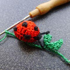 Crochet Earrings, Amigurumi, Crocodile