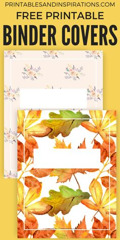 Free Printable Binder Cover Template for US Letter Size! Happy Planner Cover, Free Planner, Planner Pages, Printable Planner, Free Printables, Printable Calendars, Planner Ideas, Weekly Planner, Binder Covers Free
