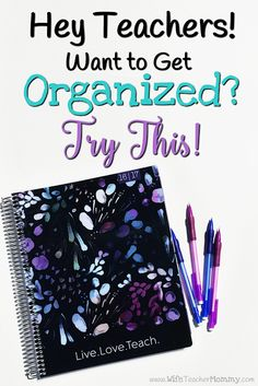 The BEST teacher planner for back to school! Hey Teachers! Want to get organized? Try this! My Plum Paper planner has helped me SO much in getting my life organized, and I know their teacher planner will help YOU get organized, too! This teacher planner is perfect for every teacher for back to school! http://www.wifeteachermommy.com/2016/07/getting-organized-with-teacher-planner.html