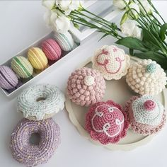 Crochet Cake, Crochet Food, Crochet For Kids, Knit Crochet, Crochet Doll Pattern, Crochet Patterns Amigurumi, Other Diy Ideas, Handicraft, Diy For Kids