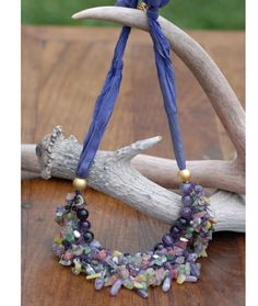 #Stunning #necklace from colorful bids by DesigningArts.  Etsy, $65.00 Spotlight, Design Art, Crochet Necklace, Colorful, Trending Outfits, Unique Jewelry, Handmade Gifts, Etsy, Vintage