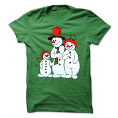 retro snowman and family - #anniversary gift #money gift. THE BEST => https://www.sunfrog.com/Christmas/retro-snowman-and-family.html?68278
