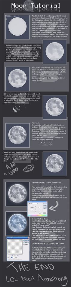 +Moon Tutorial+ by Spell.deviantart.com on @DeviantArt