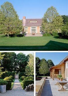 Ina Garten East Hampton Home in the garden with ina garten | barefoot contessa, east hampton