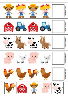 7 no mess ways to make Farm Animals Preschool, Preschool Centers, Preschool At Home, Preschool Classroom, Zoo Animals, Toddler Learning Activities, Preschool Learning Activities, Preschool Themes, Preschool Lessons