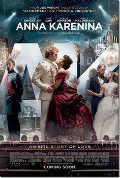 CINEMA: Anna Karenina
