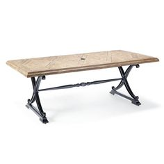 Carlisle Faux Wood Dining Table in Onyx Finish