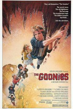 Original The Goonies Poster by Drew Struzan