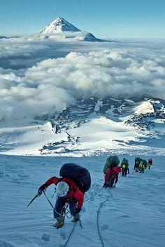 Mountaint climbing..