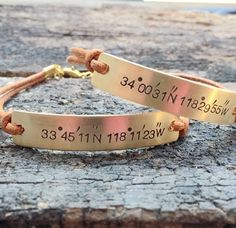 Couples bracelet coordinates bracelet, Couples coordiantes bracelet, Personalized Bracelet, Personalized Coordinates bracelet, Turntopretty | Handmade Couples Bracelets Jewelry - Turntopretty® Girlfriend Anniversary Gifts, Leather Anniversary Gift, Anniversary Gifts For Couples, Personalized Couple Gifts, Personalized Bracelets, Handmade Bracelets, Couple Bracelets Leather, Matching Couple Bracelets, Wholesale Crafts